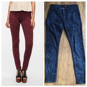 Urban Outfitters BDG Ikat Pattern Skinny Jeans